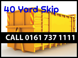 40 YARD ROLL ON ROLL OFF SKIP HIRE Chorlton-cum-Hardy