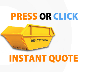 Press or Click for an instant skip hire Manchester quote